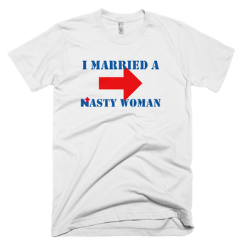 I Married a Nasty Woman MEN'S Short Sleeve t-Shirt