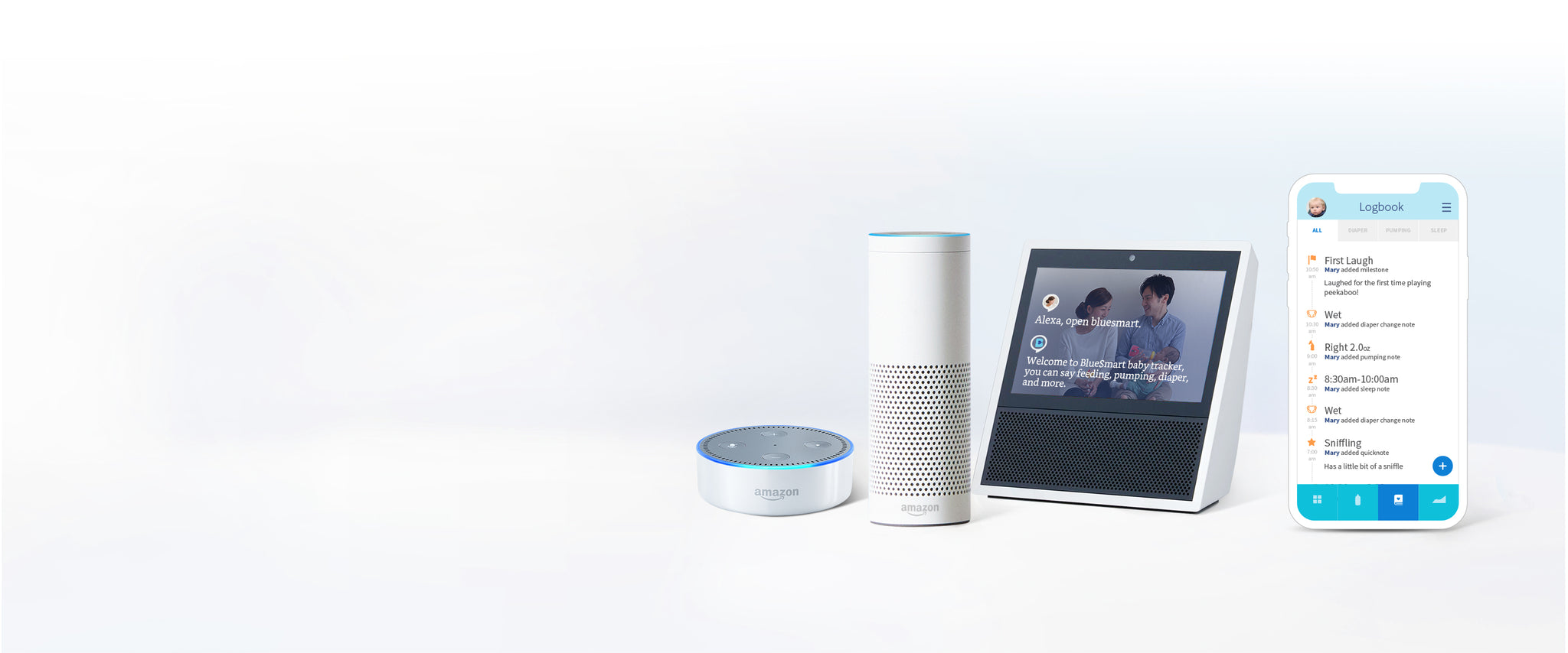 Amazon Alexa and BlueSmart: Revolutionizing the Baby Journal