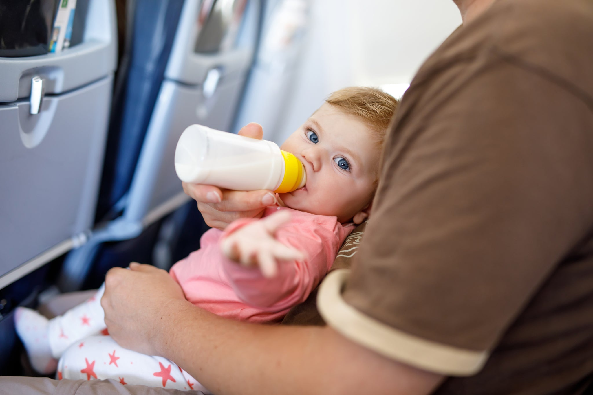 Bottle Feeding While Traveling