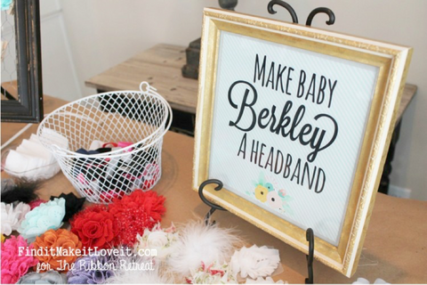 Make baby a headband | BlueSmart mia Blog