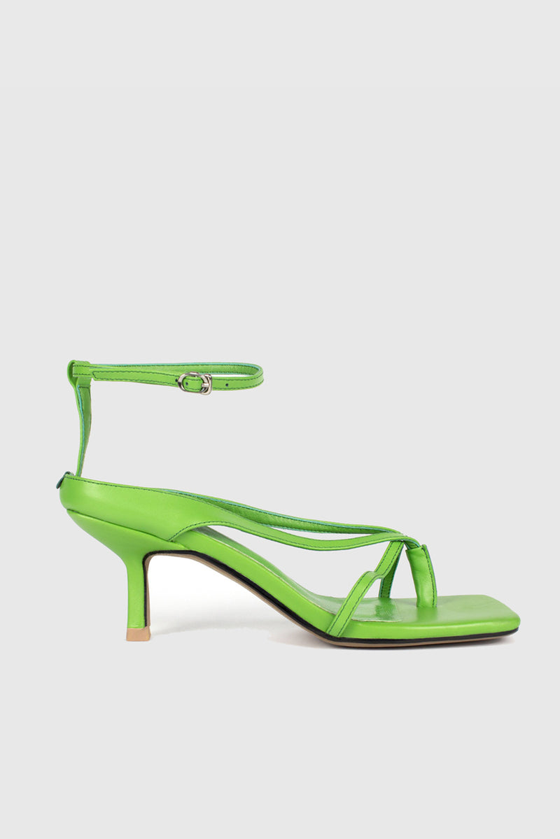 Anais Low Heel - Green
