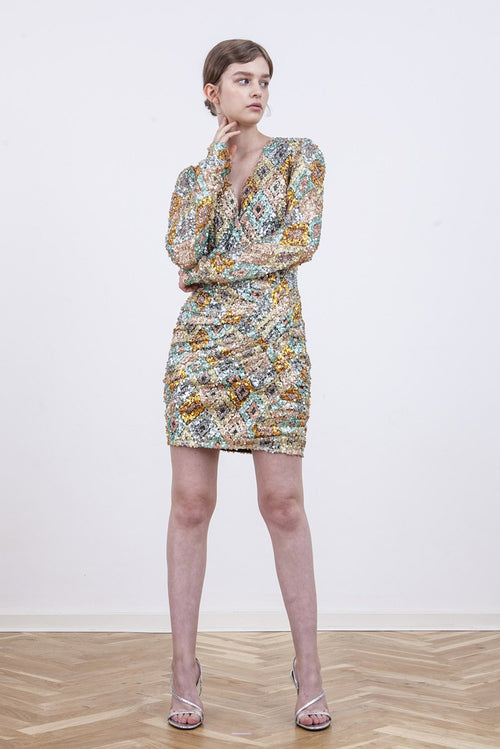 Sequin May Dress - Multicolour