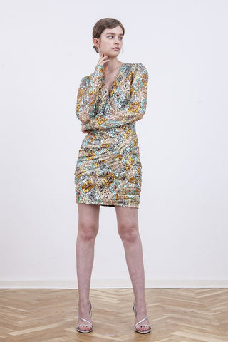BIRGITTE HERSKIND Sequin May Dress - Multicolour