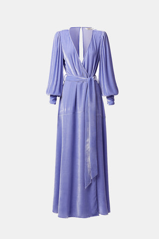 SLEEPING WITH JACQUES Sylvia Dress - Jacaranda