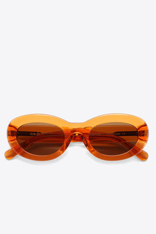 Sun Buddies Courtney Sunglass - Maple Syrup