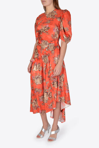 PREEN BY THORNTON BREGAZZI Ophelie Dress - Red Bouquet