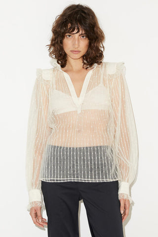 BY MALENE BIRGER Givotia Shirt - Angora