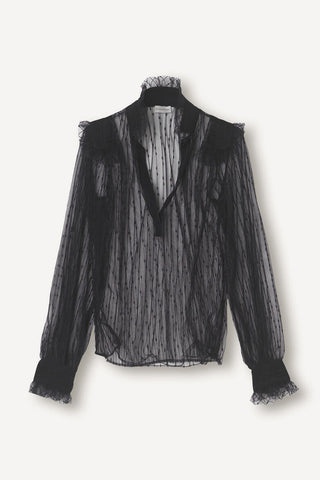 BY MALENE BIRGER Givotia Shirt - Black