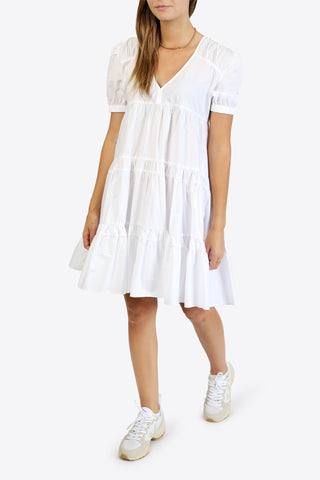 ON PARKS Sonny Dress - White