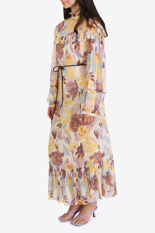 M MISSONI Long Dress - Lemon Chrome