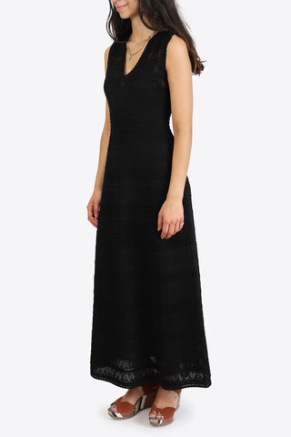 M MISSONI Long Dress - Black Beauty