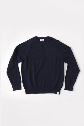 MCINTYRE Colin Crew Neck Sweater - Navy