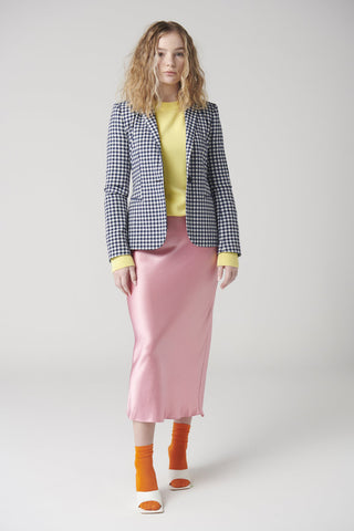 MCINTYRE Colin Crew Neck Sweater - Pastel Yellow
