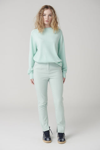 MCINTYRE Colin Crew Neck Sweater - Mint