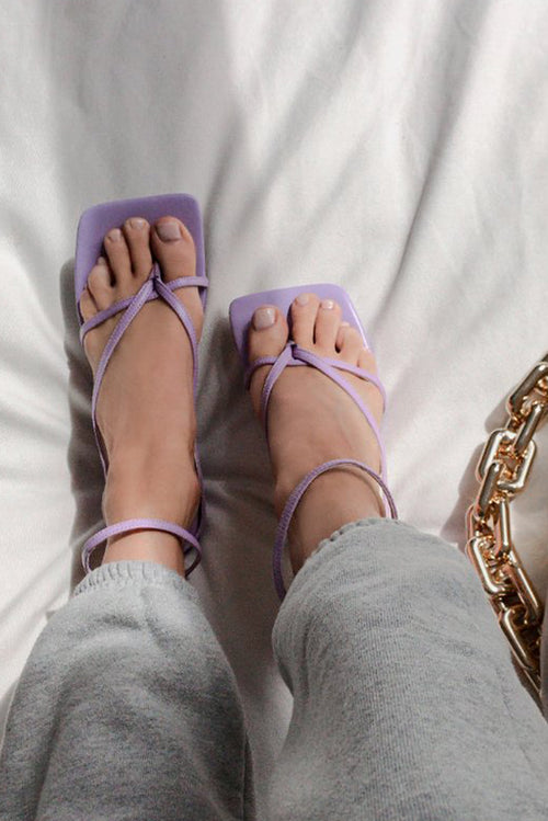 Anais Low Heels - Lilac