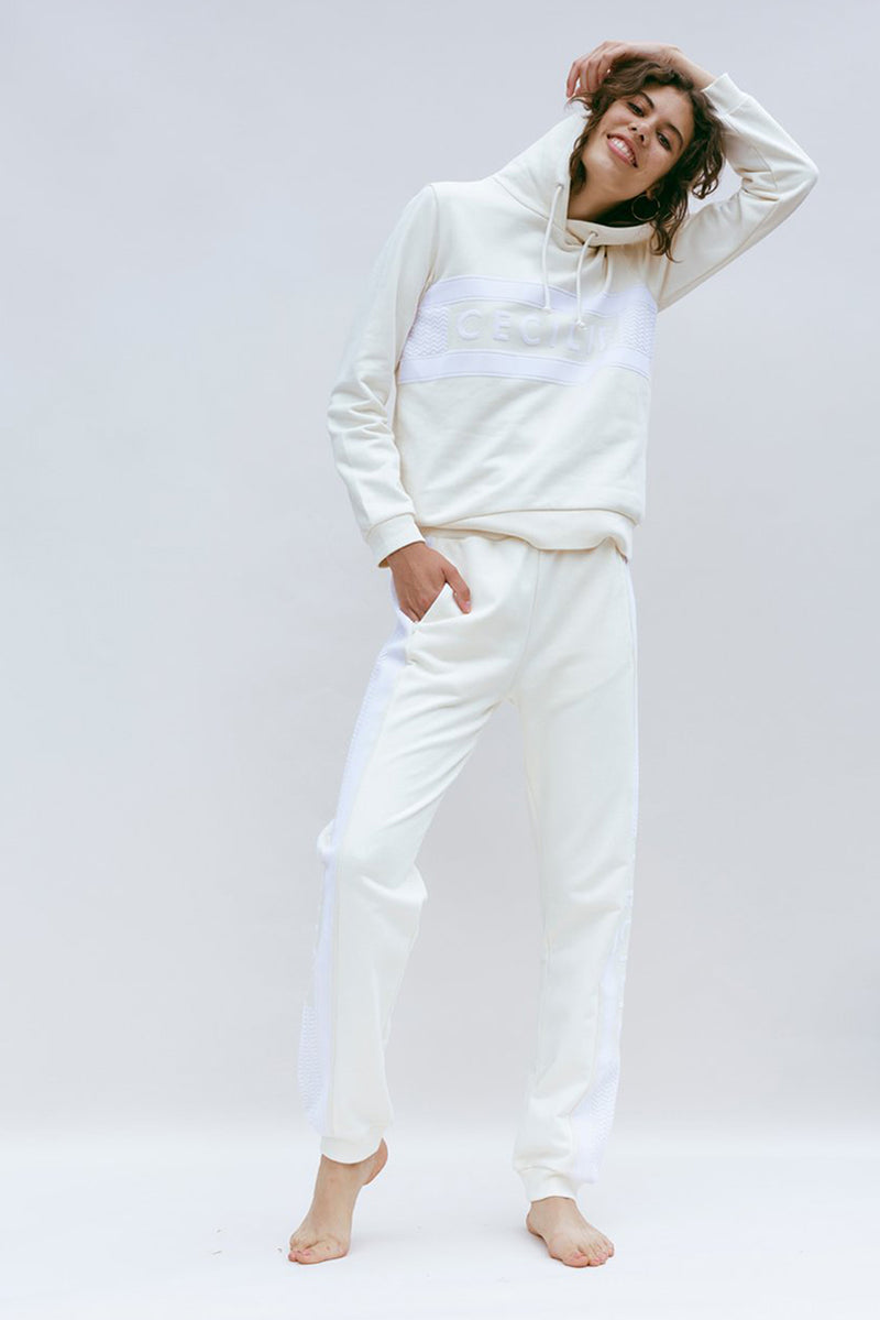Ramone Sweat Pants - Whisper White