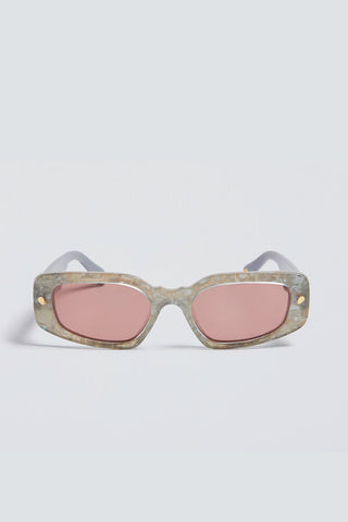 LUCY FOLK Donna Sunglasses - Water