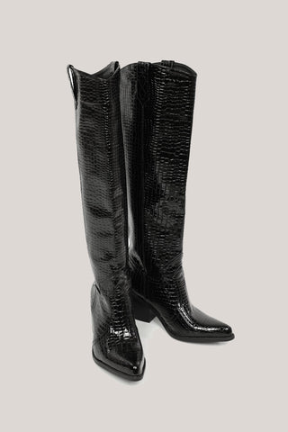 DUCIE Marilyn Boot - Black