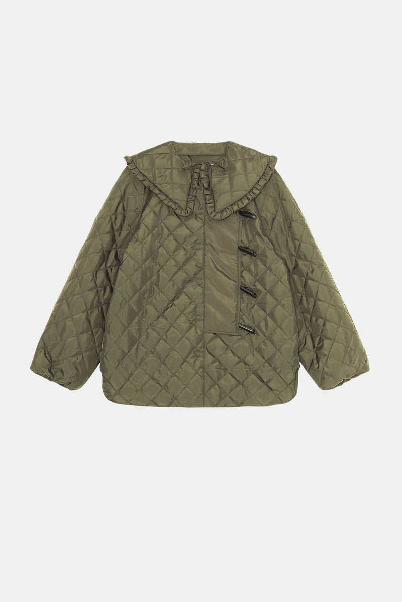 Recycled Ripstop Quilted Jacket - Kalamata
