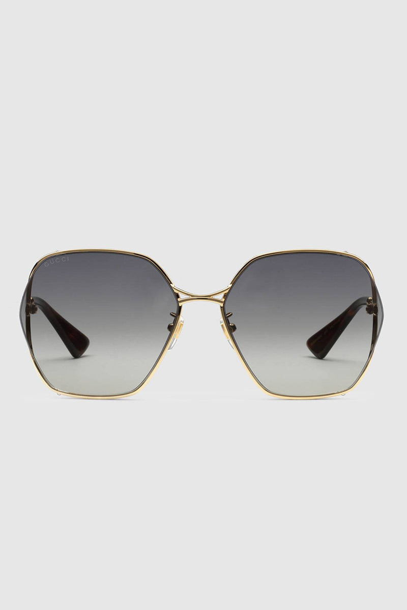 GG0818SA001 Sunglasses - Gold