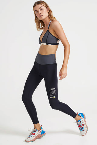 P.E NATION In Goal Legging - Black