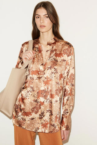 BY MALENE BIRGER Mabillon Blouse - Brick
