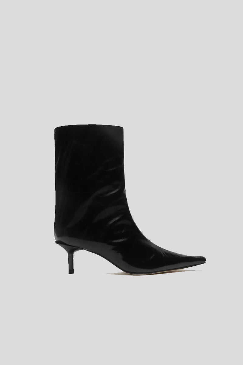 Kelly Leather Boots - Black