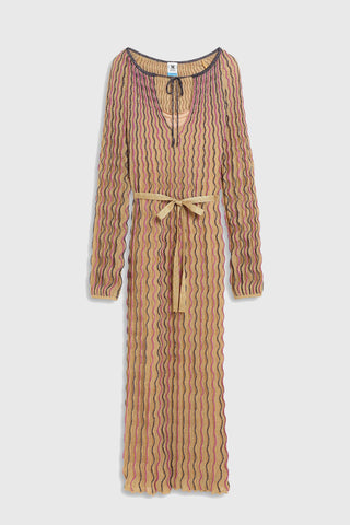 M MISSONI Long Dress - Gold