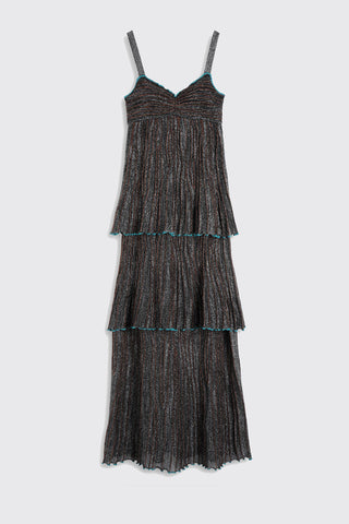 M MISSONI Abito Lungo Long Dress - Black
