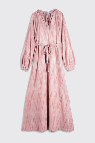 M MISSONI Abito Lungo Dress - Powder