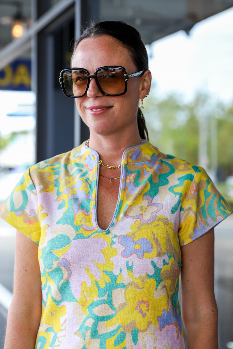 Monet Dress - Spring Meadow