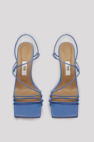 MIISTA Sally Ocean Leather Sandals - Blue