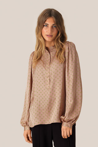 SECOND FEMALE Berri L/S Blouse - Praline