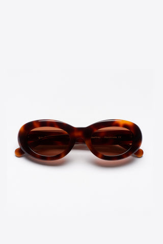 SUN BUDDIES Courtney Sunglasses - Tortoise
