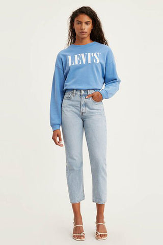 LEVI'S Wedgie Straight Jean - Montgomery Baked