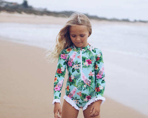 Gaga Galah Girls Swimsuit