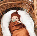 Snuggly Jacks Cinnamon Stretch Wrap and Beanie
