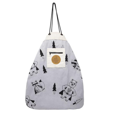 Play Pouch Printed Play Mat & Toy Storage Bag