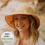 Bedhead Heritage Ladies Reversible Sun Hat