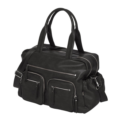 Oi Oi Faux Leather Carry All Nappy Bag