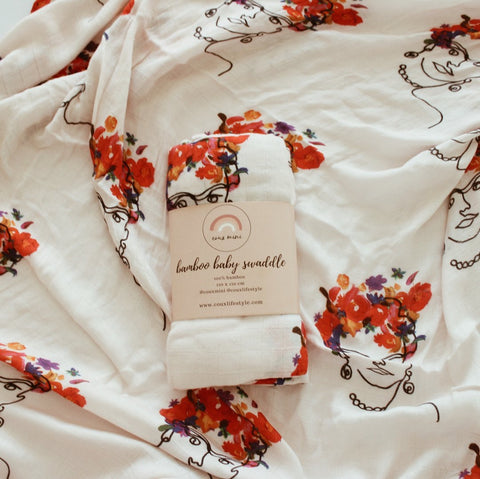 The Coux Frida Bamboo Muslin Wrap