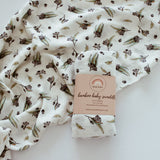 The Coux Native Gum Bamboo Muslin Wrap