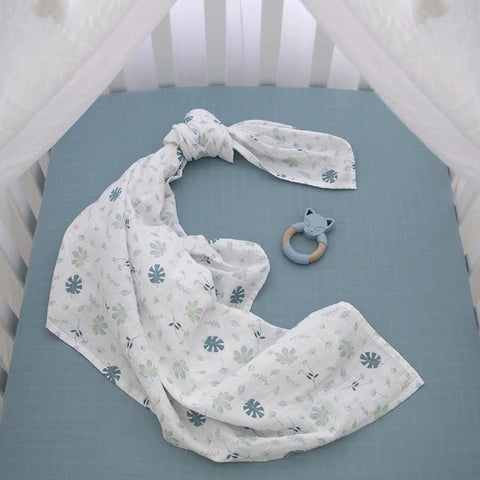 Organic Muslin Swaddle and Teether