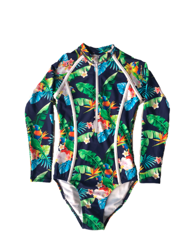 Lorikeet Love Teen/Tween Swimsuit