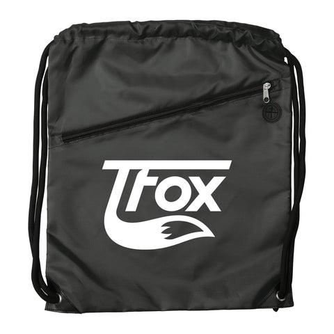 Drawstring Bag - Black Sig 2.0