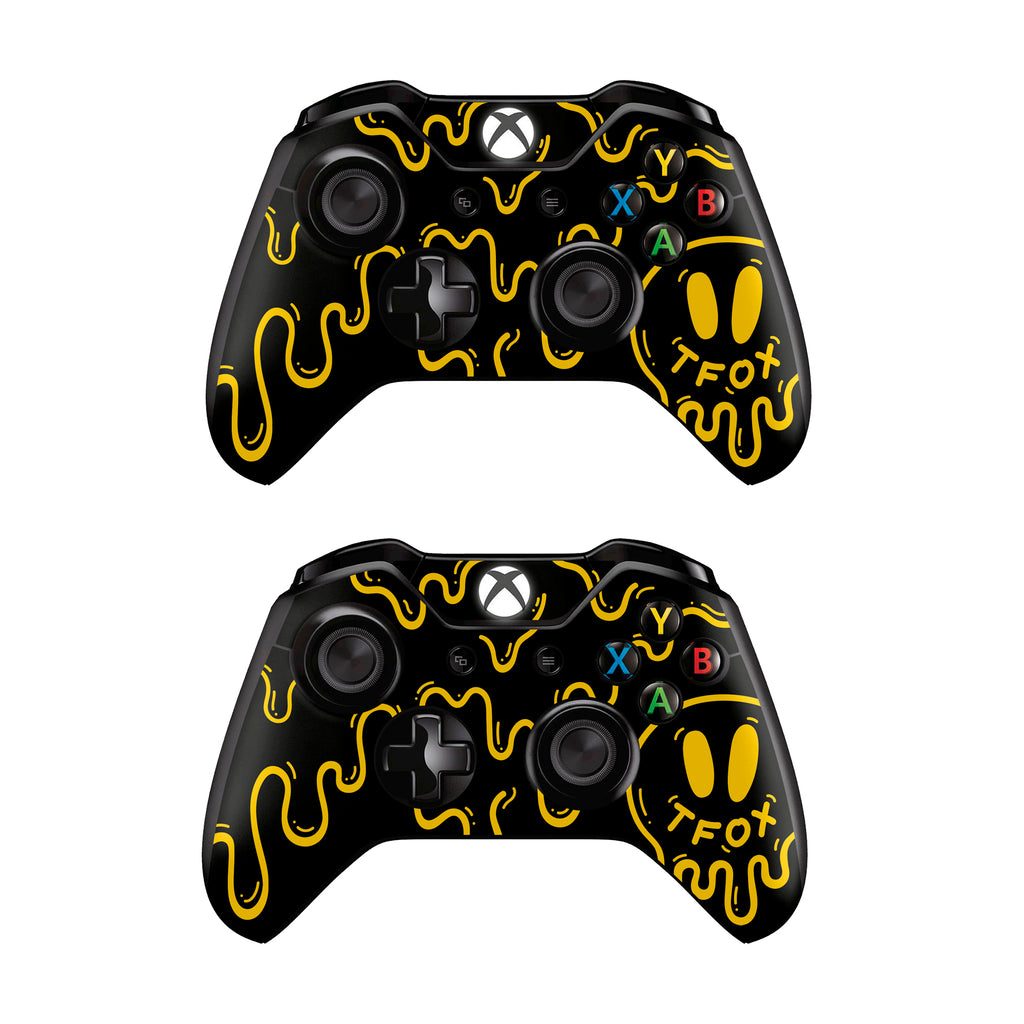 Controller Skin Set - Black Stratton Xbox
