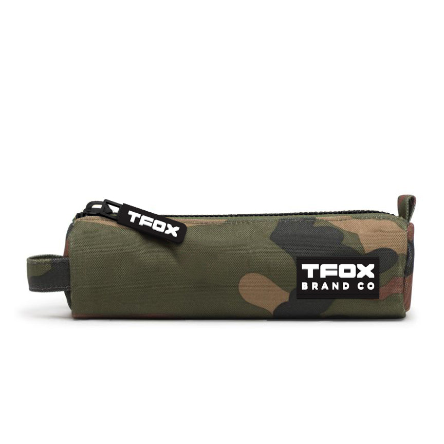 Pencil Bag - Camo Forged Triangle