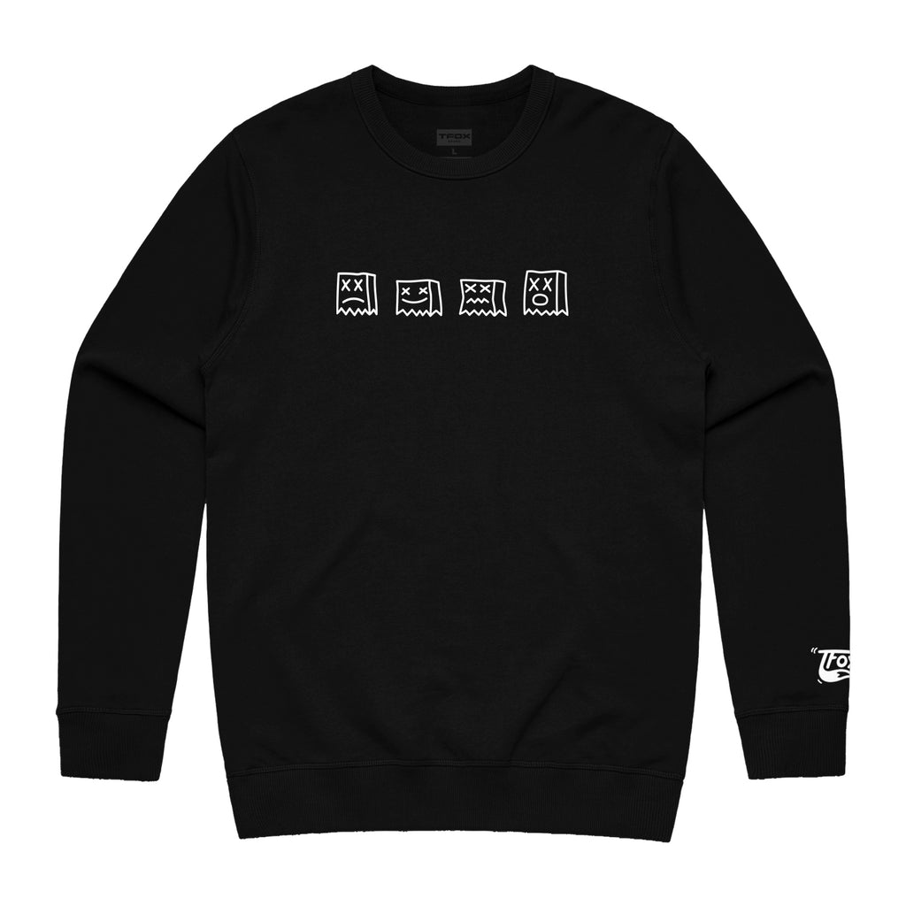 Crewneck - Black Loner