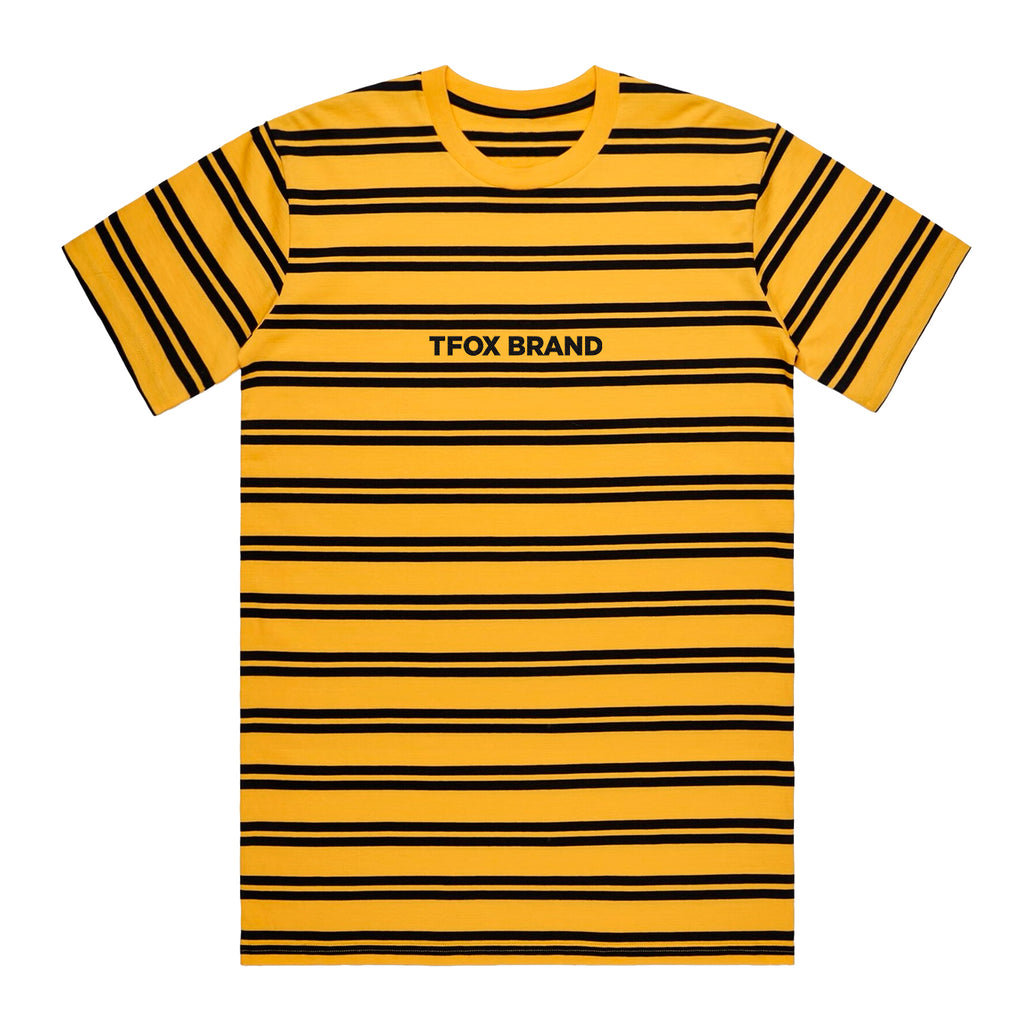 Tshirt - Yellow Striped Marked