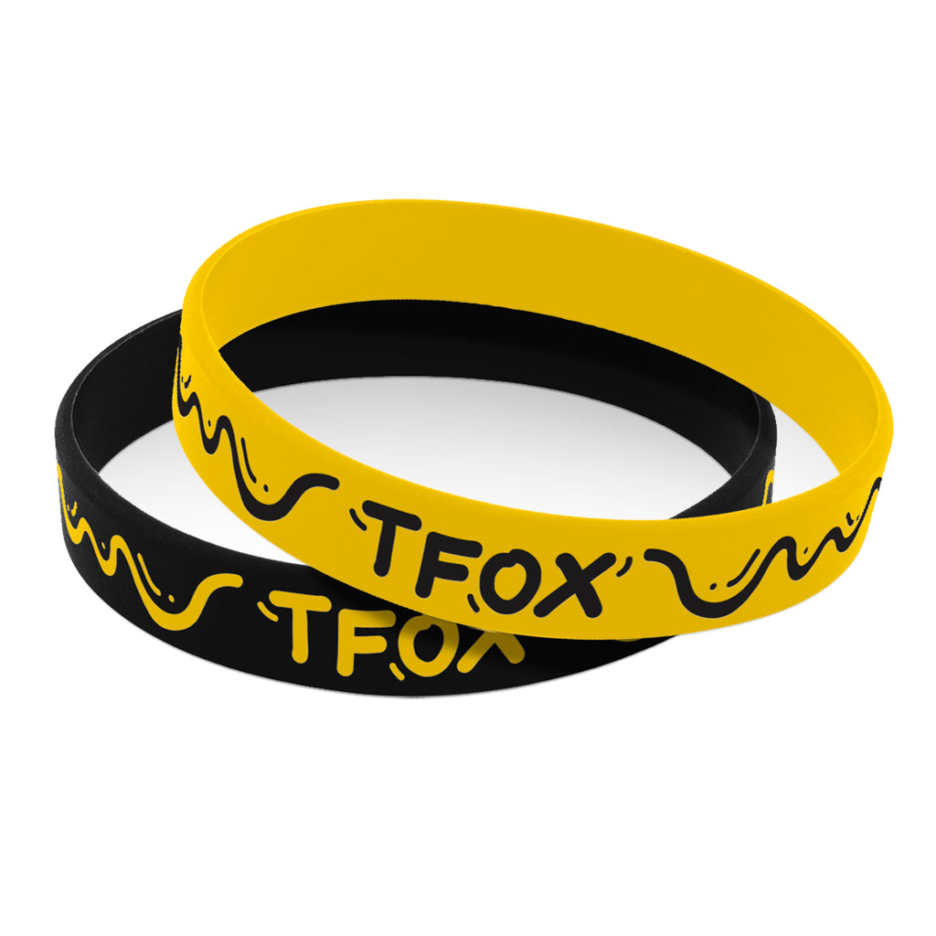 Wristband Set - Black/ Yellow Stratton